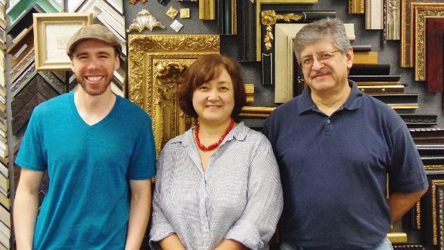 Brian Tompkins, Youko Bourgeau & David Olivares